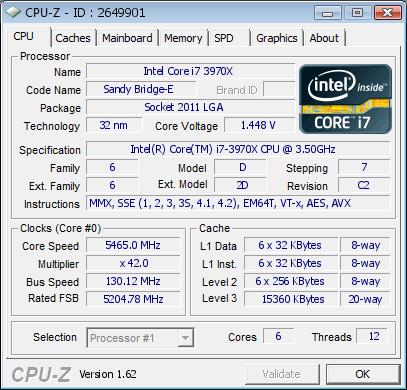 certification cpu-z