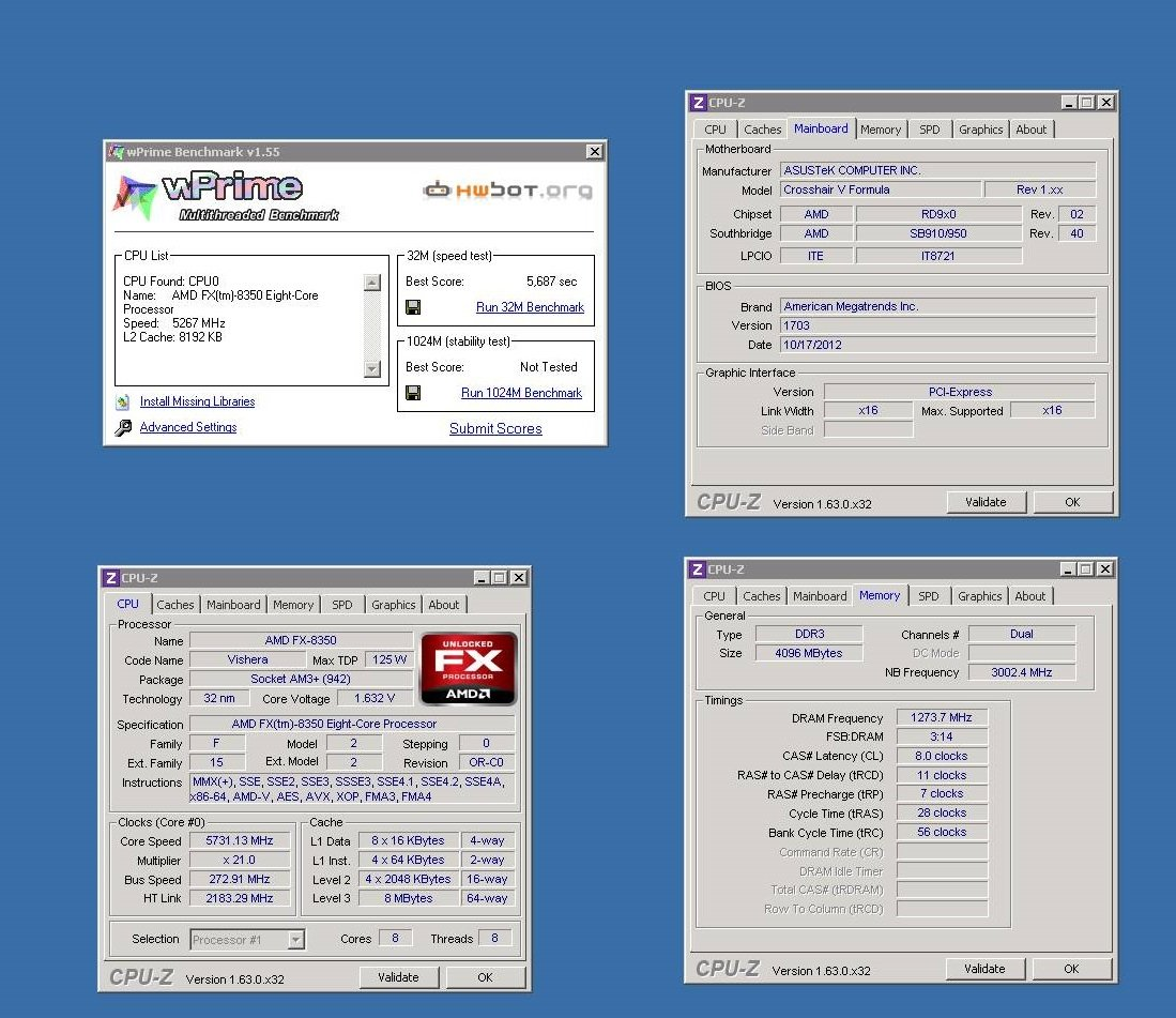 AMD FX LIST - AMD FX-8350 and FX-6300 Power to Performance