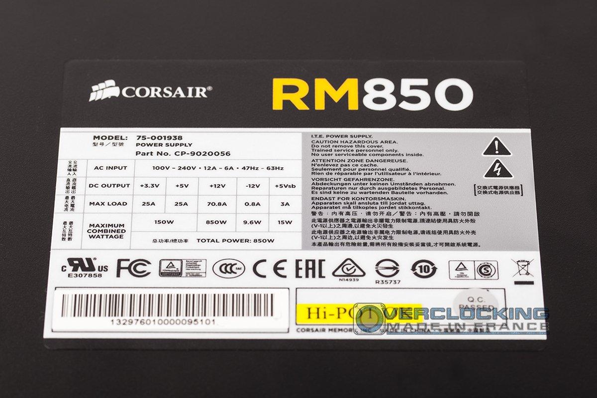 Corsair RM850W 10