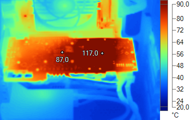 MSI R9 280X Gaming températures
