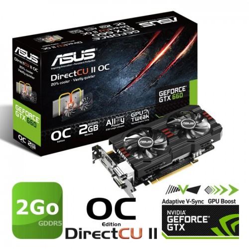 Asus GTX 660 DirectCu II