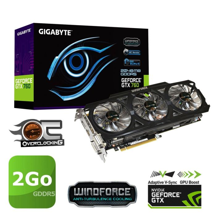 Gigabyte GTX 760 Windforce