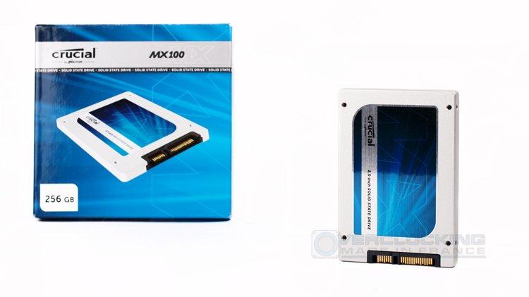 Crucial MX100 256Go 1