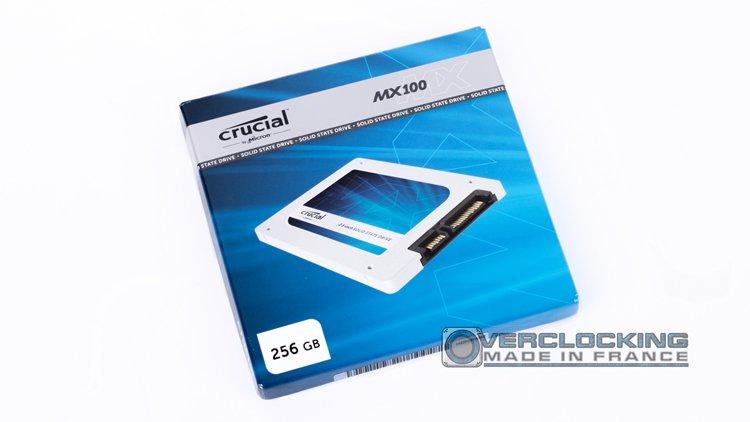 Crucial MX100 256Go
