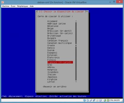 Installation de Linux vbox11
