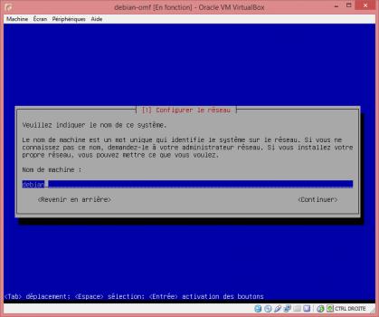 Installation de Linux vbox12