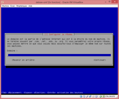 Installation de Linux vbox13