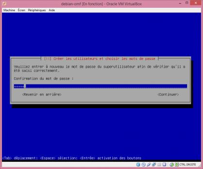 Installation de Linux vbox15