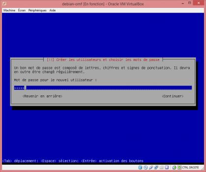 Installation de Linux vbox17