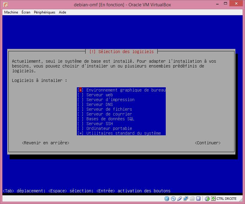 qq pour l'installation de Linux