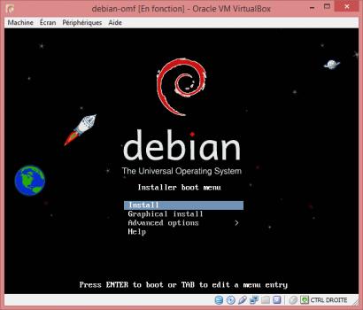 Installation de Linux vbox9