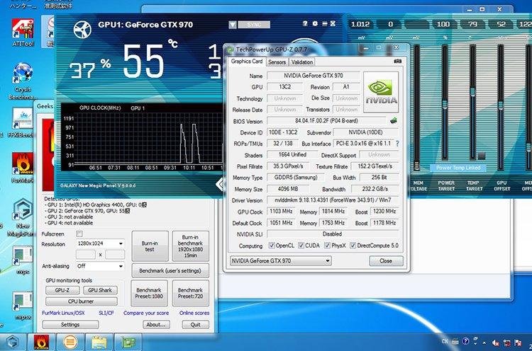 Galaxy GTX 970 gpu-z