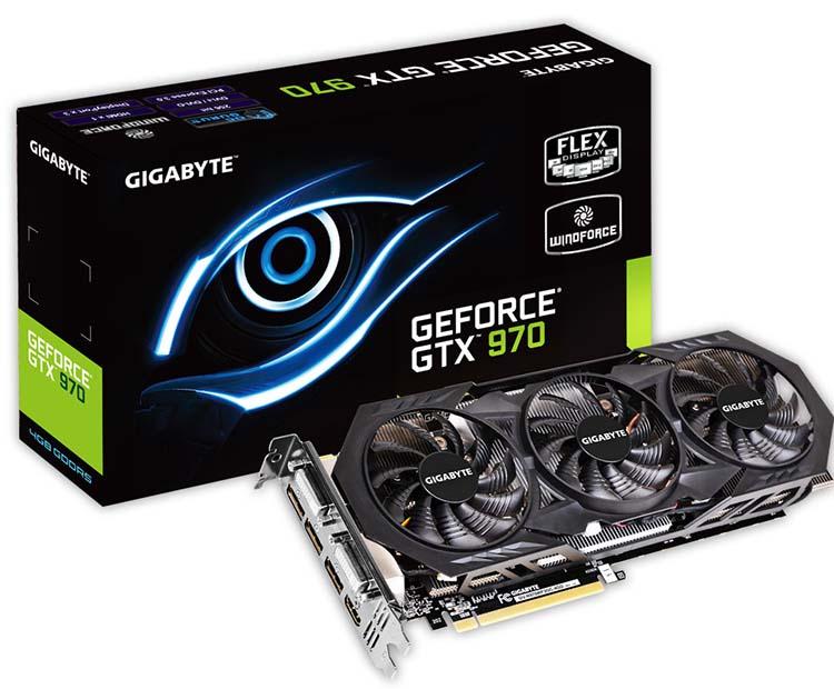 Gigabyte GTX 970 WindForce OC