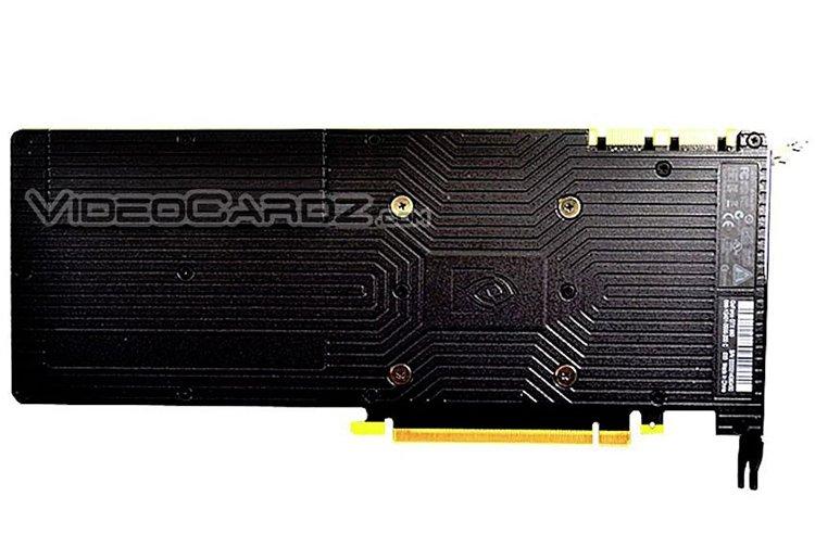 NVidia GTX 980 réf back