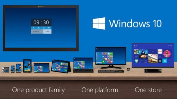 Windows 10 multiplateforme