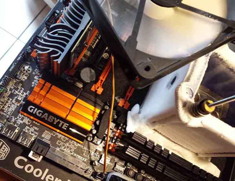 LN2 HwBot Prime Strat azote