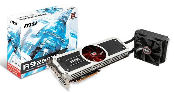 MSI R9 295X2