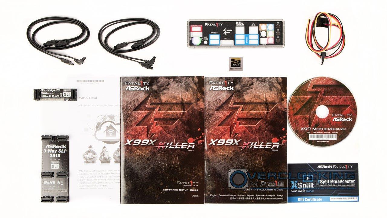 test Asrock X99X Killer 3