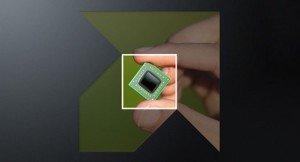 AMD Logo chip