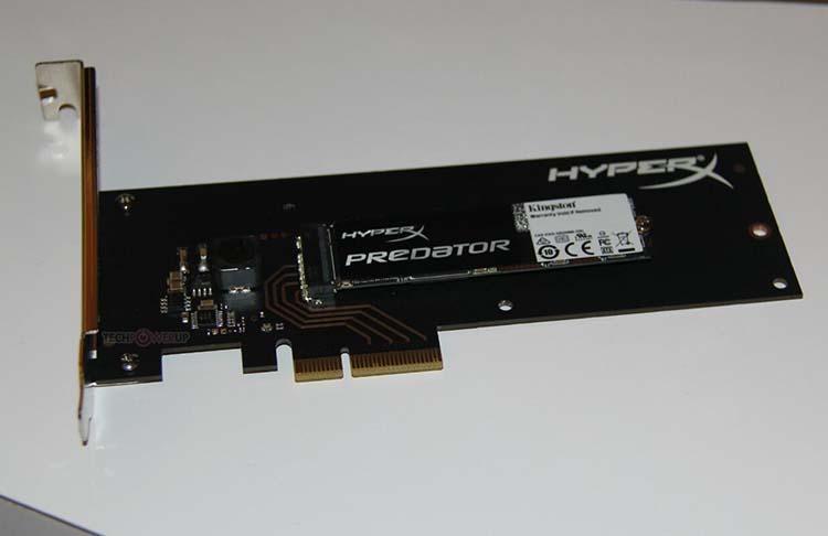 kingston hyperx predator pci-e