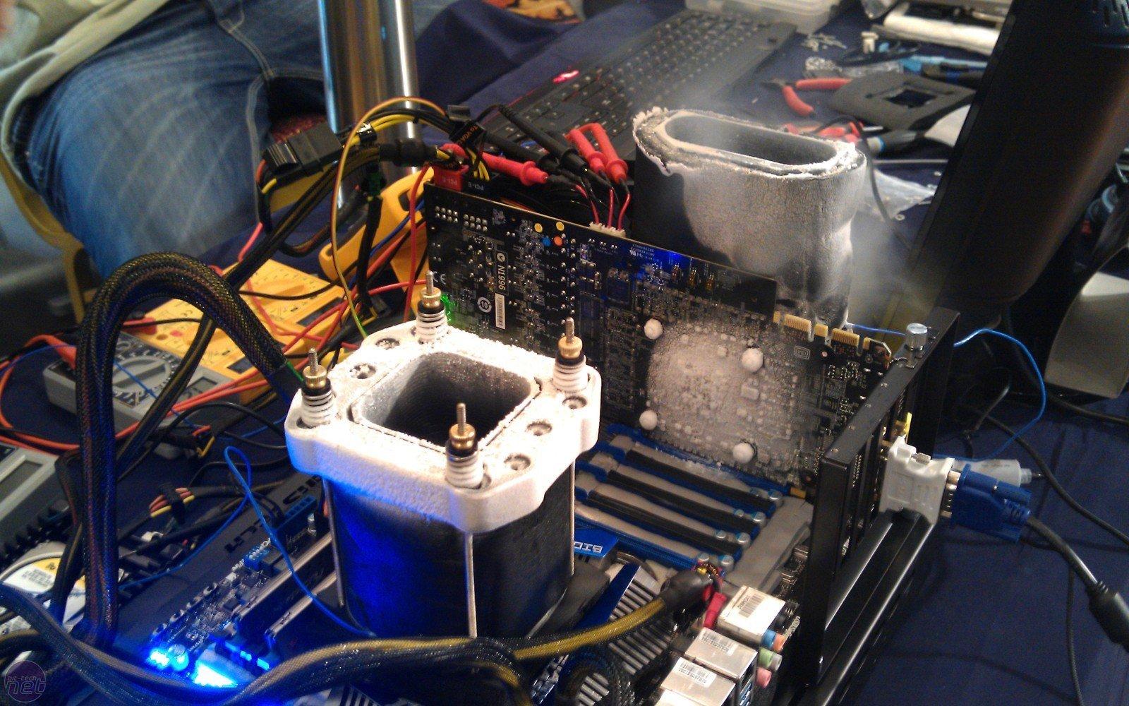 В картинках разгон процессора