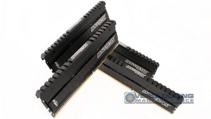 DDR4 Crucial ballistix elite 2666 cas16 5b