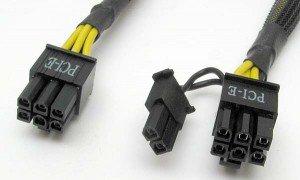 alimentation PCI-e 6-8 pins