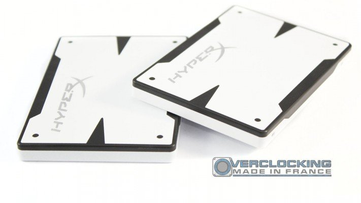 test RAID 0 Kingston HyperX 3K White Edition 240 Go 2