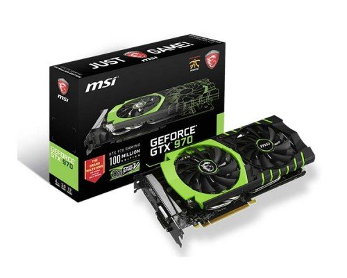 MSI GTX 970 100ME box