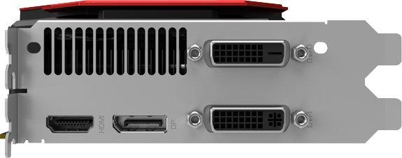 palit gtx 960 4go connectique