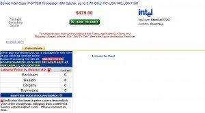 prix Core i7 5775C 4