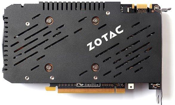 zotac gtx 960 amp backplate