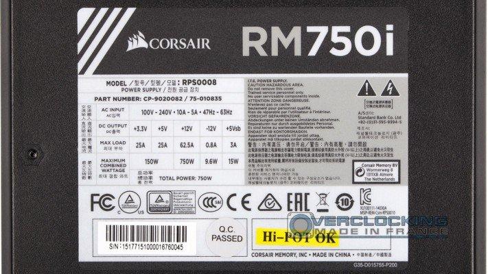 Corsair RM750I 5