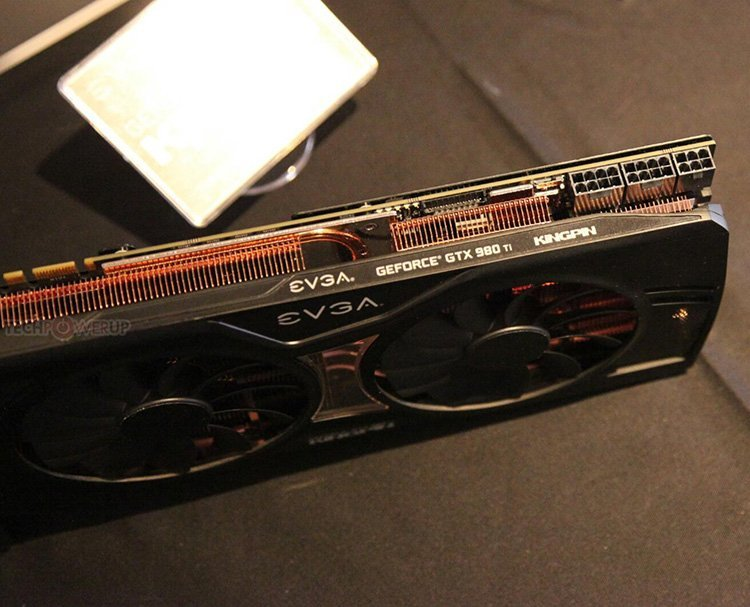 EVGA GTX 980 Ti Classified KingPin ed 2
