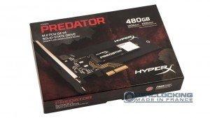 HyperX Predator SSD M.2 480Go