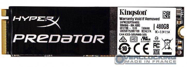 Kingston HyperX Predator PCIE SSD M2 480go (5)