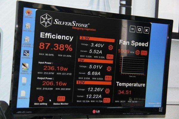 SilverStone ZEUS 1200w platinum monitoring soft