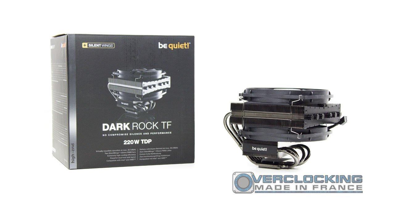 Be Quiet! Dark Rock TF Boîte + ventirad