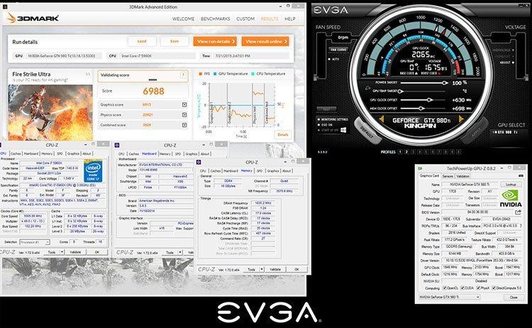 Reccord EVGA KingPin 2