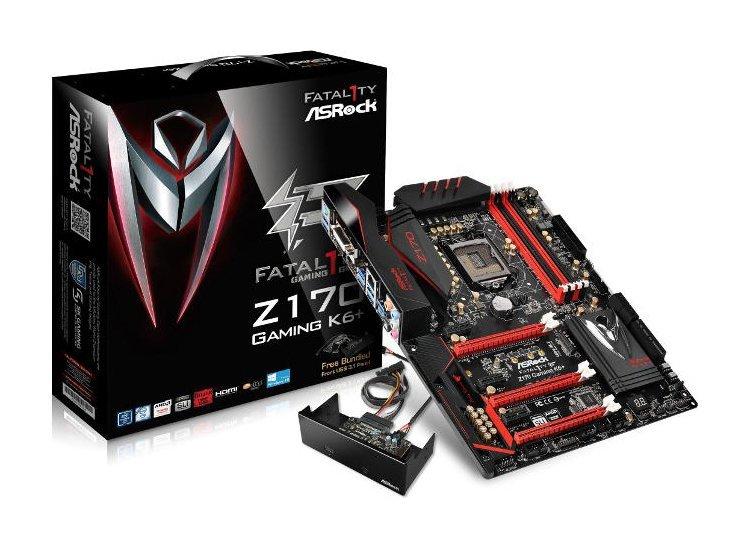 ASRock Z170  fatal1ty Gaming K6+
