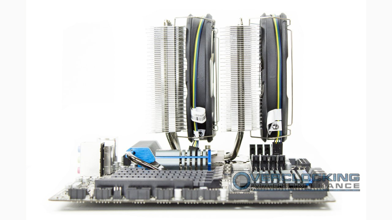 Thermaltake Frio Extreme Silent 14 Dual Installation AMD 5