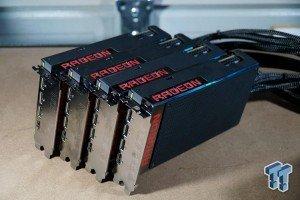AMD Fury X quad Crossfire