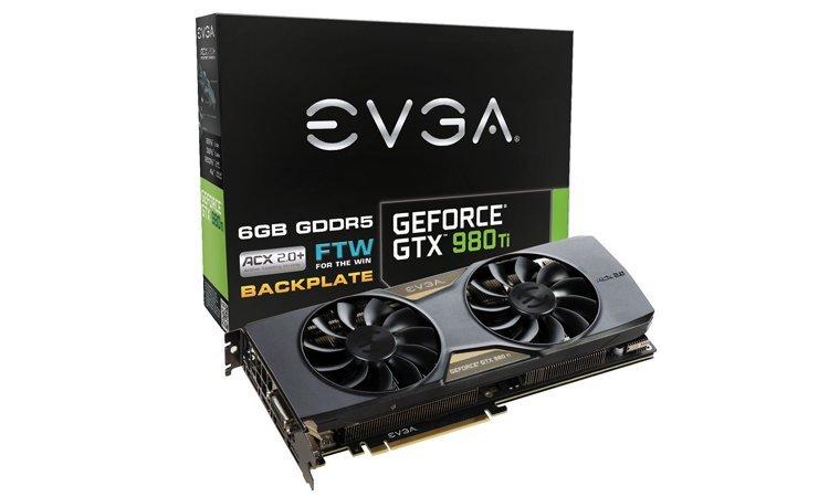 EVGA GTX 980 Ti FTW ACX 2.0+ 1