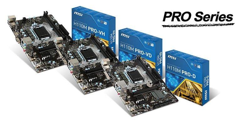 MSI H110 Pro