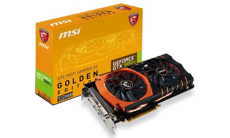 MSI GTX 980 Ti Golden Edition 1