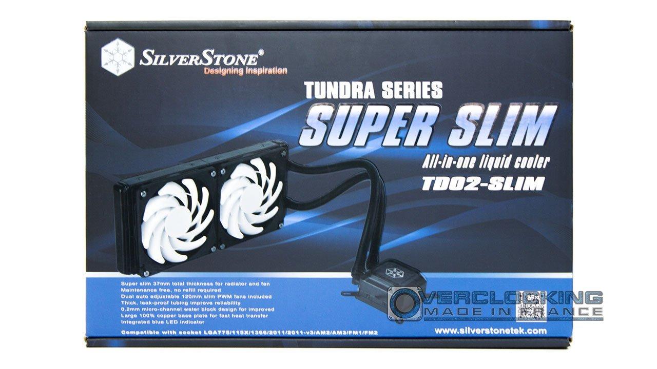 Silverstone TD02-Slim boîte 1
