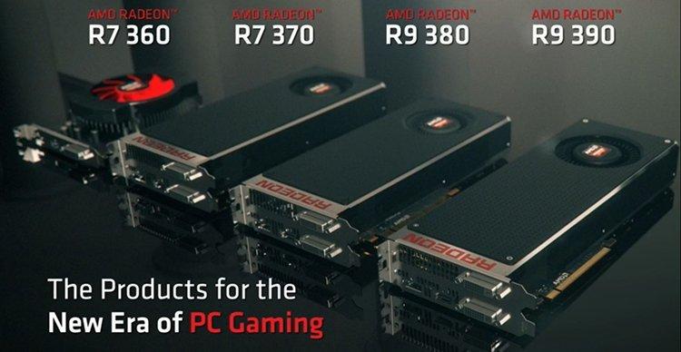 AMD R9 300 lineup