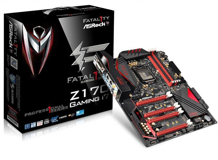 ASRock Z170 Fatal1ty Professional Gaming i7