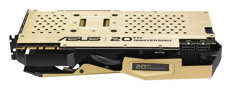 ASUS GTX 980 ti 20th anniversary golden edition