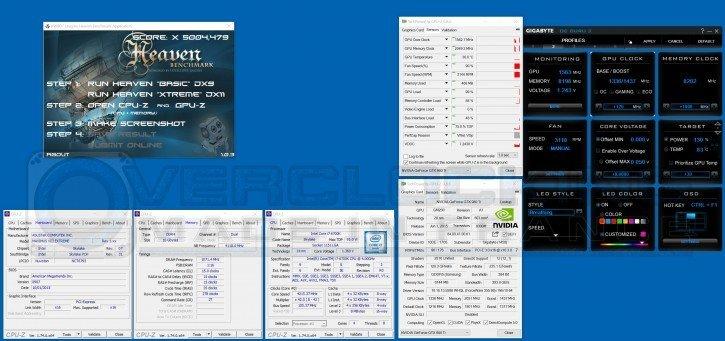 Gigabyte GTX 980 Ti WaterForce Xtreme Gaming oc unigine
